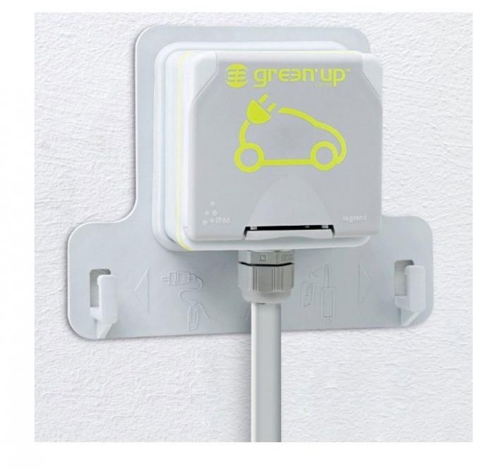 Kit priza pentru incarcare vehicule electrice Legrand Green'up 3.7kw IP55-big