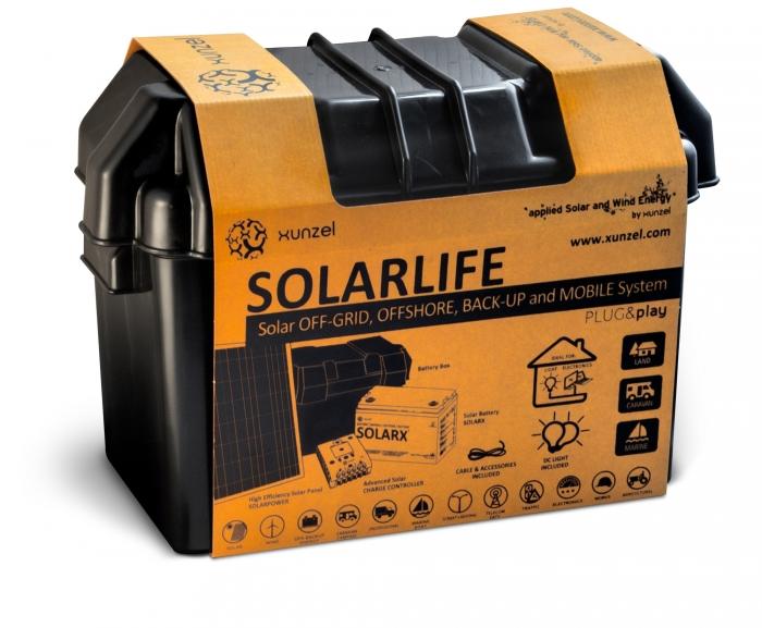 Kit solar Xunzel Off-Grid complet pentru iluminat SOLARLIFE5i-big