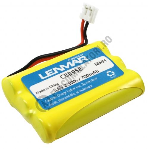 Lenmar Replacement Battery for GE CLT-2422, 39954, 39955, Motorola MD4200, MD7161, MD72612, SD7500 Cordless Phones-big