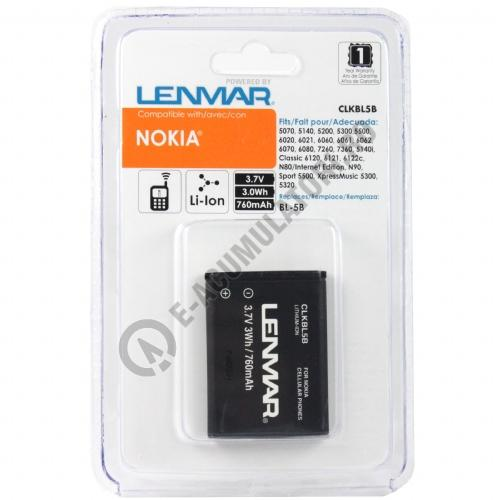 Lenmar Replacement Battery for Nokia 5300 Series Cellular Phones-big