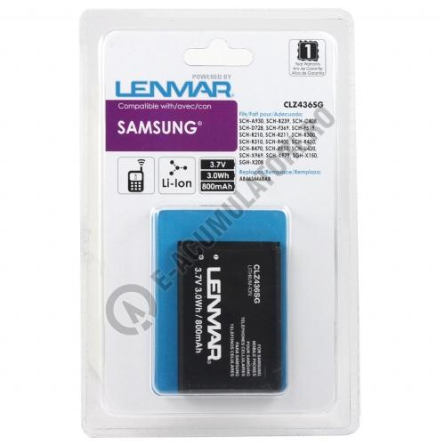 Lenmar Replacement Battery for Samsung Axle, Byline, Contour, Factor, JetSet Cellular Phones-big