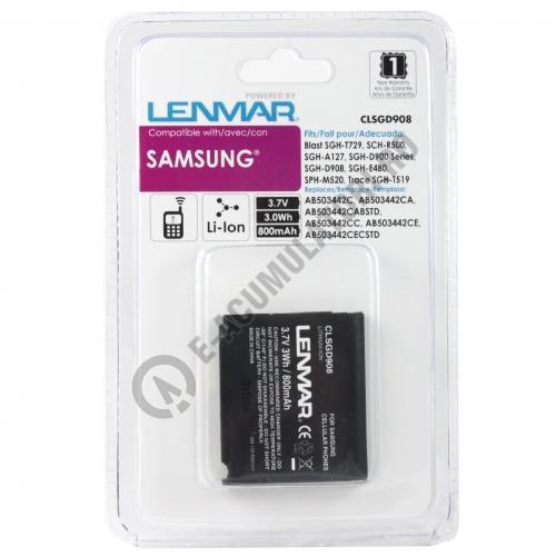 Lenmar Replacement Battery for Samsung SGH-D900 Series Cellular Phones-big