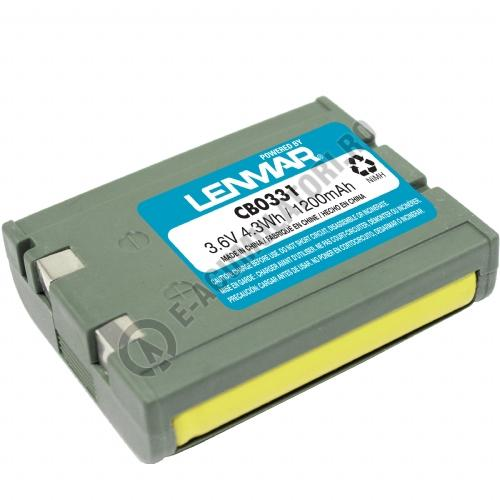 Lenmar Replacement Battery for Sony SPP-9104, SPP-A2470, SPP-A9171, SPP-S9000 Cordless Phones-big