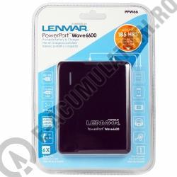PowerPort Wave 7000 cod PPW66 - Incarcator si baterie portabila pentru iPad/Tablete, Smartphone-big