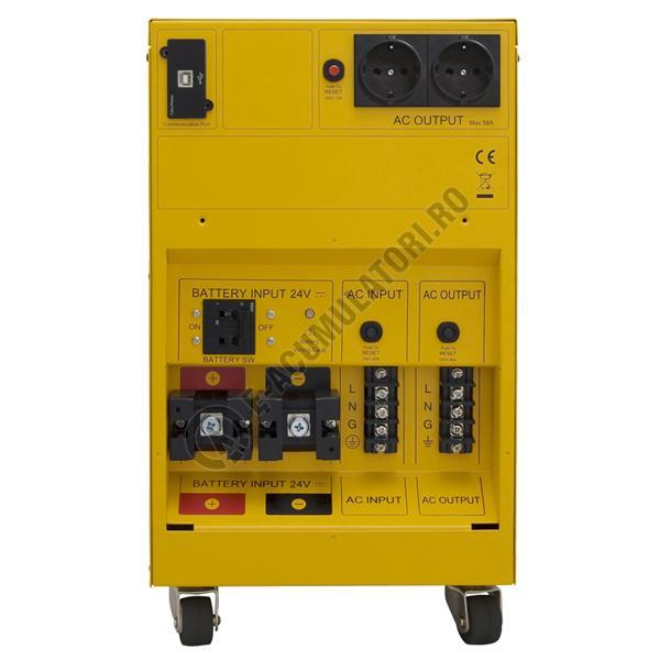 UPS unda pura sinusoidala pentru centrale termice si iluminat de urgenta Cyber Power CPS3500PRO 3500VA 2450W-big
