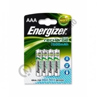 Acumulatori Energizer AAA  1000 mAh, blister de 4 buc.0