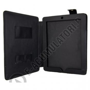 Leather Case with Stand for iPad 2 black0