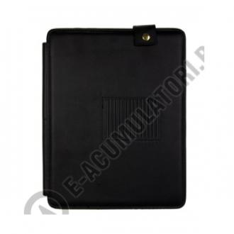 Leather Case with Stand for iPad 2 black2