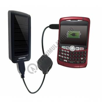 Lenmar PowerPort Duo - Baterie portabila si incarcator solar PPUS201