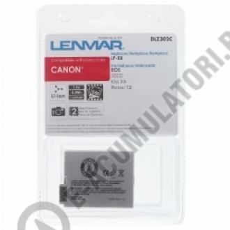 Acumulator DLZ302C pentru CANON LP-E8 7.4V  1120mAh0