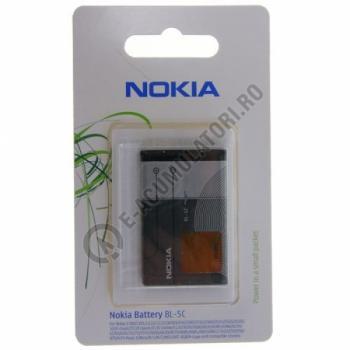 Acumulator original Nokia BL-5C, blister0