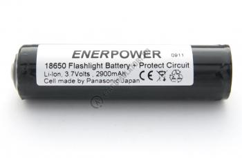 Acumulator 18650 Li-Ion 2900 mAh Panasonic cu protectie PCB 2,5 A1