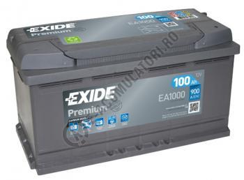 Acumulator Auto Exide Premium 100 Ah cod EA10002
