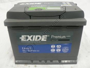 Acumulator Auto Exide Premium 64 Ah cod EA6401