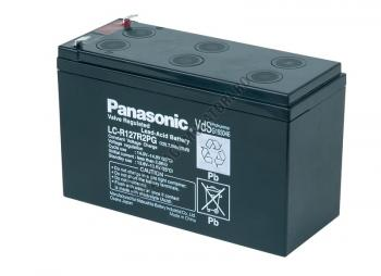 Acumulator VRLA Panasonic 12V 7,2 Ah cod LC-R127R2PG (F187)0