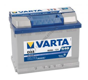 BATERIE AUTO VARTA BLUE 60 Ah cod D24 - 5604080543132-11