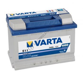BATERIE AUTO VARTA BLUE 74 Ah cod E11 - 57401206831321