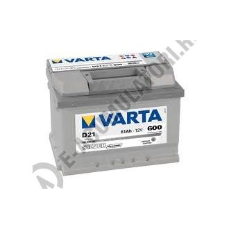 BATERIE AUTO VARTA SILVER 61 Ah cod D21 - 56140006031621