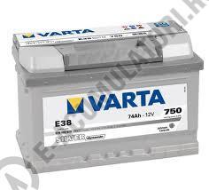 BATERIE AUTO VARTA SILVER 74 Ah cod E38 - 57440207531621