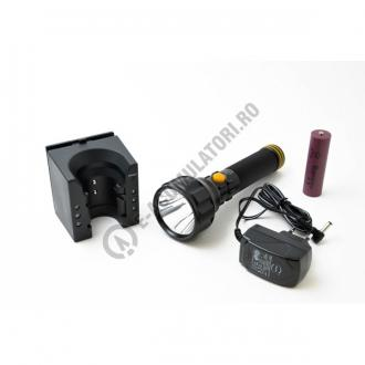 Lanterna reincarcabila  ICE cu LED CREE, model ETX 90592