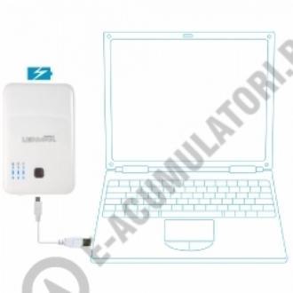Lenmar PowerPort Duo - Baterie portabila si incarcator USB cu 2 iesiri PPU50003