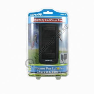 Lenmar PowerPort Duo - Baterie portabila si incarcator solar PPUS200