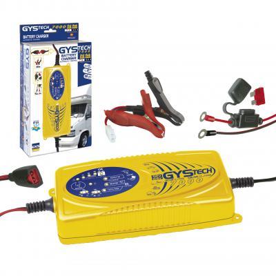 Incarcator si redresor inteligent auto moto 12/24V GysTech 7000 cod 0249530