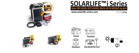 Kit solar Xunzel Off-Grid complet pentru iluminat SOLARLIFE5i4