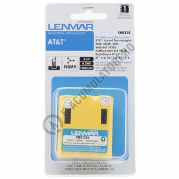 Lenmar Replacement Battery for AT&T 9400, 24280, 3094 Cordless Phones1