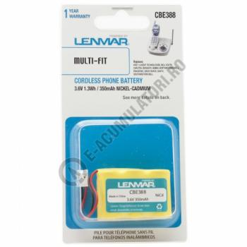 Lenmar Replacement Battery for Bell South 33011, 33020, 3866, 3890, 39030 Cordless Phones1