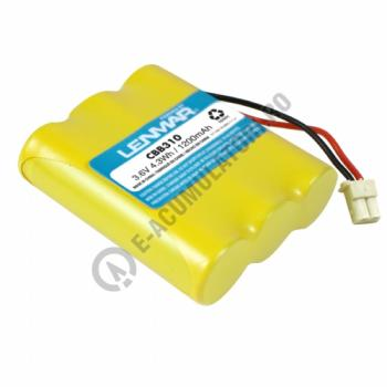Lenmar Replacement Battery for Cidco NP600, GE 5-2358A, 5-2488A Cordless Phones0