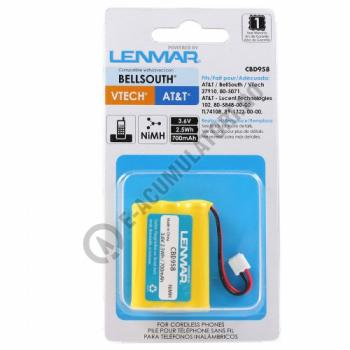 Lenmar Replacement Battery for GE CLT-2422, 39954, 39955, Motorola MD4200, MD7161, MD72612, SD7500 Cordless Phones2