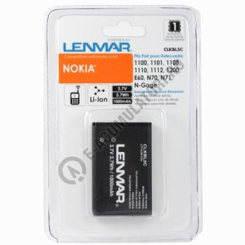 Lenmar Replacement Battery for Nokia 1100 Series, 1600 Series, 3600 Series Cellular Phones1