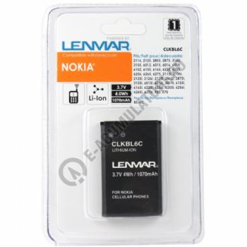 Lenmar Replacement Battery for Nokia 2125, 3155, 6015i Cellular Phones1