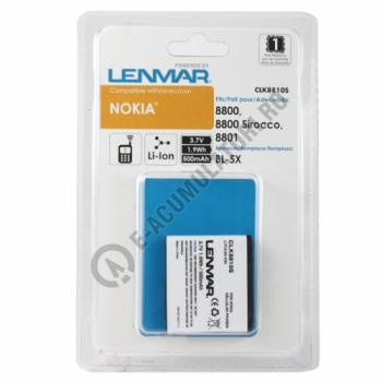 Lenmar Replacement Battery for Nokia 8800 Series Cellular Phones1