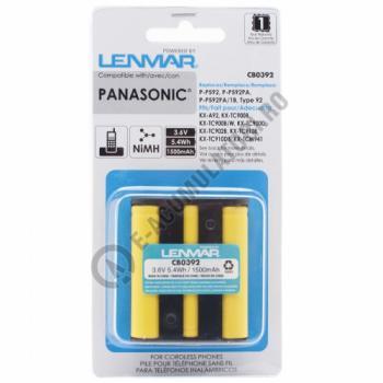 Lenmar Replacement Battery for Panasonic KX-TC Series, KX-TCM Series Cordless Phones2