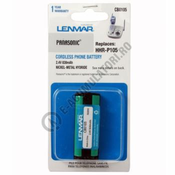 Lenmar Replacement Battery for Panasonic KX-TC Series, KX-TG Series Cordless Phones1