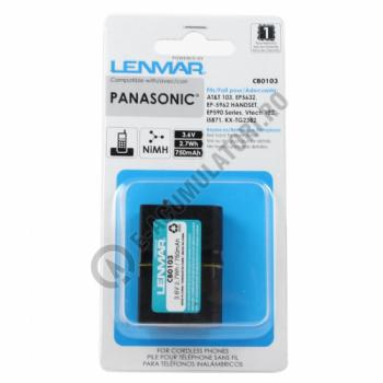 Lenmar Replacement Battery for Panasonic KX-TD Series, KX-TG Series Cordless Phones1