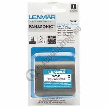 Lenmar Replacement Battery for Panasonic X-T900 Series, KX-T9500 Series Cordless Phones1
