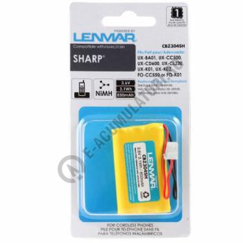 Lenmar Replacement Battery for Sharp UX-BA01, FO-CC550, UX-CC500, UX-CD600 and UX-CL220 Cordless Phones2