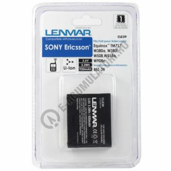 Lenmar Replacement Battery for Sony Ericsson W380 Series Cellular Phones1