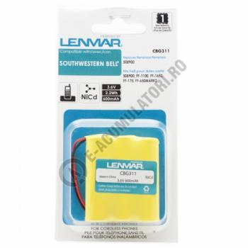 Lenmar Replacement Battery for SW Bell FF-1100, FF-1650, FF-175 Cordless Phones1