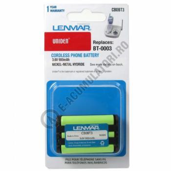 Lenmar Replacement Battery for Uniden CLX465, CLX475, CLX485, CLX502, TCX400 Cordless Phones1
