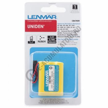 Lenmar Replacement Battery for Uniden DCT Series, DCX Series, TCX Series, TRU Series Cordless Phones2