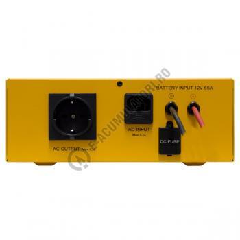 UPS pentru centrale termice Cyber Power CPS600E 600VA 420W + Acumulator 12V 72 Ah3