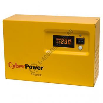 UPS pentru centrale termice Cyber Power CPS600E 600VA 420W + Acumulator 12V 72 Ah1