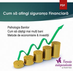 """Curs online """"Cum să atingi siguranța Financiară"""""""