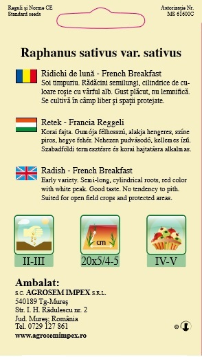Ridichi De Lună - French Breakfast