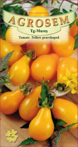 Tomate - Yellow Pearshaped