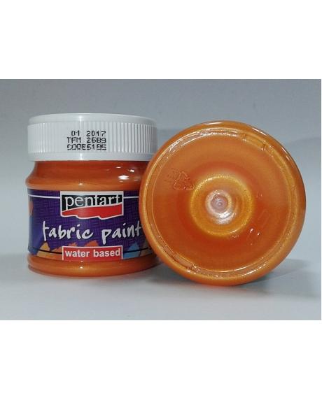 Vopsea textile portocaliu 50 ml